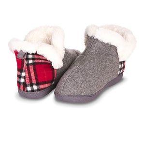 Indoor, Outdoor Slippers for Women- Fur Lined